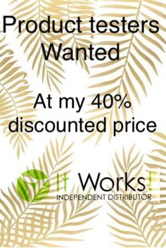ItWorks wraps, skincare, results!!! Looking for product tester for a 90 day challenge at my discounted price!! Message me or email suzitworks@gmail.com for more info