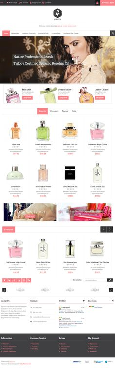 #perfume, #fashion, clean, layout, red