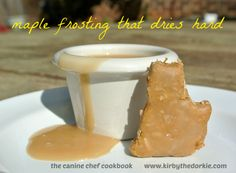 Maple frosting recipe for dogs - Our good friend Kirby the Dorkie, as he prepares for the highly anticipated release of his dog recipe cookbook, is excited to bring you these delicious #dog frosting recipes that can be used for any special occasion! They're easy recipes that comes a variety of delicious flavors, including yogurt, maple and more!
