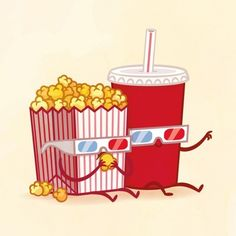 I got Popcorn and Soda! Which Adorable Food Pair Are You And Your Best Friend?  @nataliegoggin I just took it!