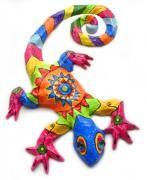 Salamandra  70 x 65 x 7 cm by Karla Tobar