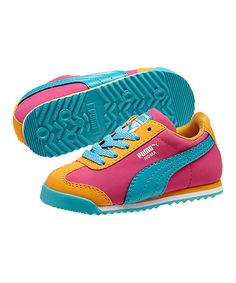This Beetroot Purple & Zinnia Roma Sneaker by PUMA is perfect! #zulilyfinds