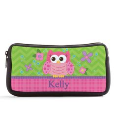 Look at this Sweet Owl Personalized Pencil Case on #zulily today!