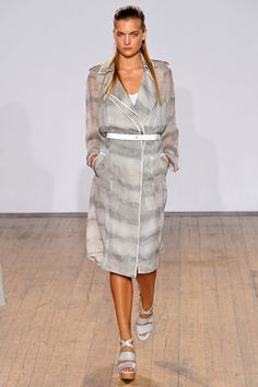 A great cool light weight spring coat from Nicole Farhi