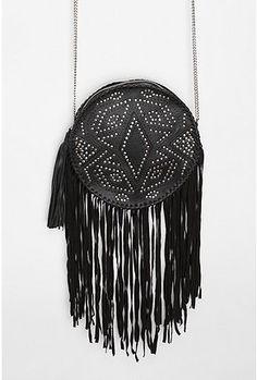 UrbanOutfitters.com > Ecote Circular Fringe Crossbody Bag