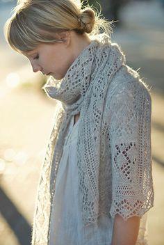 Celes Stole Knitting Pattern
