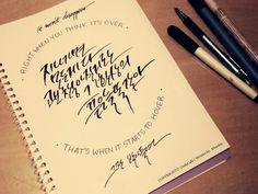 Calligraphy, 캘리그라피, nell, 넬, fantasy