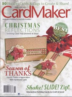 Card Maker magazine
