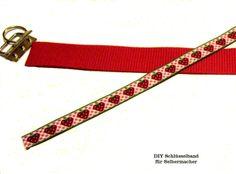 DIY ♥ Schlüsselband  Erdbeere  von ஐღKreawusel-aufgehübscht✂ஐ  auf DaWanda.com