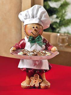 Gingerbreadman Serving Tray . . .