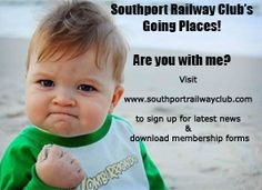 Southport Railway Club...the Club that's on the up and going places!