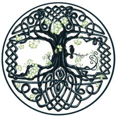 Celtic Tree Knot, used as CD cover for one of my CDs, available from RedBubble for tshirts, pillows, phone cases, etc http://www.redbubble.com/people/witherspoon