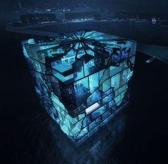 韓國麗水世博會水立方展館
