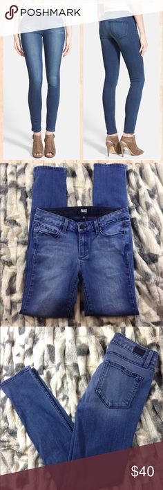 """Paige Skyline Skinny Paige skyline Skinny in """"Gabrielle"""" sz 27 inseam30"""" Excellent condition.... these are sold out online! Paige Jeans Jeans Skinny"""