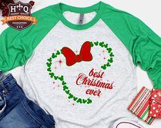 Disney Christmas Shirts Disney Shirts by PixieDustPrincessCo Disney Christmas Shirts, Disneyland Christmas, Christmas Vinyl, Christmas Crafts For Gifts, Disneyland Trip, Disney Shirts, Disney Vacations, Disney Trips, Christmas Fun