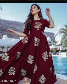 Checkout this latest Kurtis Product Name: *Women's Printed Rayon Kurti* Fabric: Rayon Sleeve Length: Three-Quarter Sleeves Pattern: Printed Combo of: Single Sizes: M (Bust Size: 38 in, Size Length: 50 in)  L (Bust Size: 40 in, Size Length: 50 in)  XL (Bust Size: 42 in, Size Length: 50 in)  XXL (Bust Size: 44 in, Size Length: 50 in)  Country of Origin: India Easy Returns Available In Case Of Any Issue   Catalog Rating: ★4.1 (735)  Catalog Name: Abhisarika Pretty Kurtis CatalogID_1848810 C74-SC1001 Code: 883-10214327-279