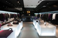Adidas Y-3 store Beijing. Visit City Lighting Products! www.linkedin.com/...