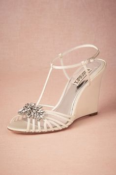 Gigi Wedge in Sale Shoes at BHLDN