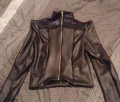 Leather Vamp jacket- 2014 Brisbane Sample Sale