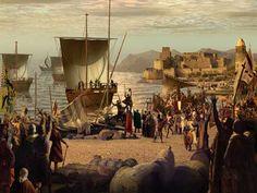 Cruzada Bagdad, Knights Templar, Illustration, Painting, Reyes, Comic Art, Gift, Weapons Guns, Inca Empire