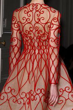 Valentino @ Paris Fashion Week Spring 2013 Couture