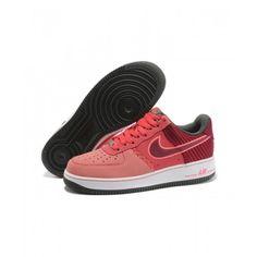 Hombres Nike Air Force 1 Low All Rojo Original Cheap Nike Running Shoes, Nike Shoes, Sneakers Nike, Nike Air Force 1, Air Force Ones, Discount Nikes, Shoes Uk, Uk Online, Uk Shop