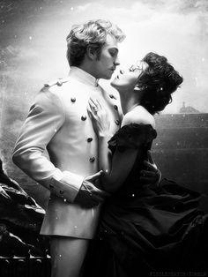 "Kiera Knightley as Anna Karenina and Aaron Taylor-Johnson as Count Alexei Vronsky in ""Anna Karenina"" (2012)"