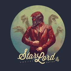 Buy the Star Lord Jurassic World t-shirt that features Peter Quill in Owen Grady's world full of raptors. Star Lord, Loki Thor, Character Drawing, Comic Character, Marvel Dc Comics, Marvel Avengers, Avengers Cast, Marvel Universe, X Men