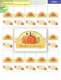 Fall Candy Bar Wrappers Printable