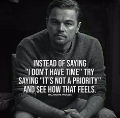 Tag you friend who says I don't have time . Motivational Videos For Success, Success Quotes, Motivational Quotes, Inspirational Quotes, Quotes Positive, Deep Meaningful Quotes, Great Quotes, Wall Quotes, True Quotes