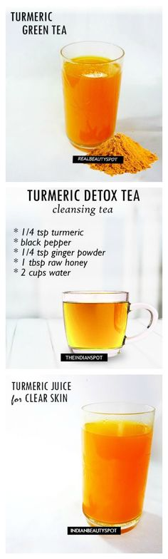 Menstrual Cramps Remedies Awesome More More - Turmeric cinnamon tea – treat a sore throat and cold Here is a recipe for Green Tea Spiced Tonic which will help build immunity and also treat sore throat, Turmeric Detox, Turmeric Drink, Turmeric Recipes, Detox Recipes, Smoothie Recipes, Healthy Recipes, Drink Recipes, Qinuoa Recipes, Rutabaga Recipes