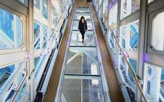 Tower Bridge Unveils Glass Floor With Spectacular Views From The Walkway