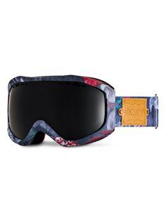 roxy, Sunset Art Series Snowboard Goggles, HAWAIIAN TROPIK_PARADISE PINK (mlr6)