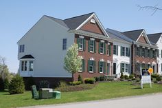 Townhome section of Concord Green