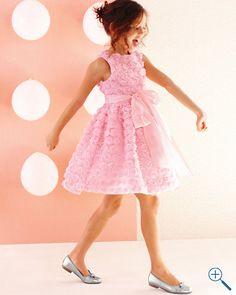 Perfect fancy pink dress at Garnet Hill