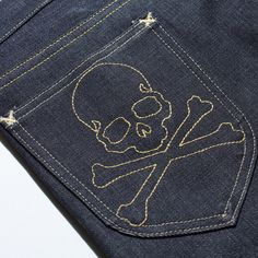 Mastermind Japan's collaboration with Lee Jeans produced the best pocket stitch I have seen!