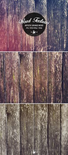 Artistic Grunge Wood Backgrounds - Wood #Texture - Wood Textures Download here: https://graphicriver.net/item/artistic-grunge-wood-backgrounds-wood-texture/7991077?ref=alena994