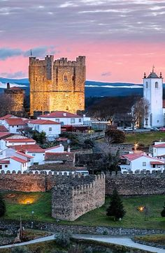 Castillo de Braganza , Portugal