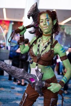Garrona halforcin (sp?) from Warcraft.