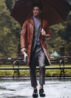 Rainy days #menswear