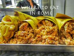 Where to find the best and value-for-money restaurants in Rome!