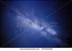 Stock Photo: Milky Way and a satellite. This long exposure astronomical photograph of the nebula Cygnus is taken in the middle of the night in Finland. -