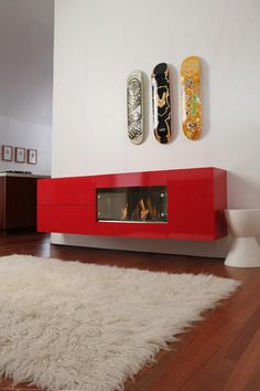 Ventless Fireplace Design Ideas, Pictures, Remodel And Decor