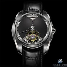 "AKRIVIA - ""Chiming Jump Hour"" Tourbillon Watch"