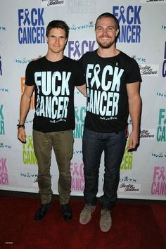Who's this bitch Cancer? And why the hell is she so luck? Stephen & Robbie Amell