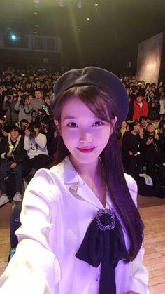 171217 IU selcas taken at Sudden Attack FM cr: Sexy Asian Girls, Beautiful Asian Girls, Beautiful Women, Gangnam Style, Korean Artist, Feel Tired, Her Music, Celebs, Celebrities