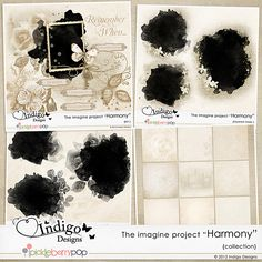 """Harmony"" Collection by Indigo Designs SAVE 50% till Apr.13 http://www.pickleberrypop.com/shop/product.php?productid=22962&cat=0&page=11 http://www.gottapixel.net/store/product.php?productid=38558&cat=&page=16"