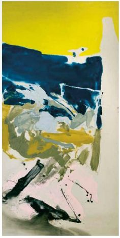 Stone Flower, 1961 by Friedel Dzubas. Lyrical Abstraction. abstract