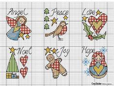 Tiny Cross Stitch, Xmas Cross Stitch, Cross Stitch Christmas Ornaments, Cross Stitch Boards, Cross Stitch Needles, Cross Stitching, Cross Stitch Embroidery, Embroidery Patterns, Cross Stitch Patterns