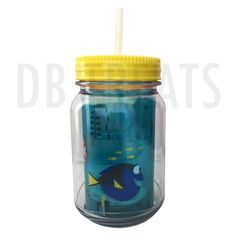 Disney Parks Finding Dory Travel Cup Do you speak whale? Bring to life your child's favorite beverage with this totally awesome Disney Parks Finding Dory Travel Cup with a flexible upper straw that sw